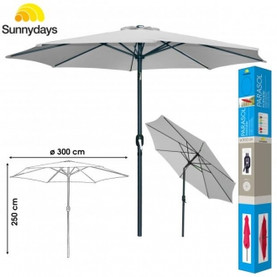 Parasol diamètre 3M inclinable