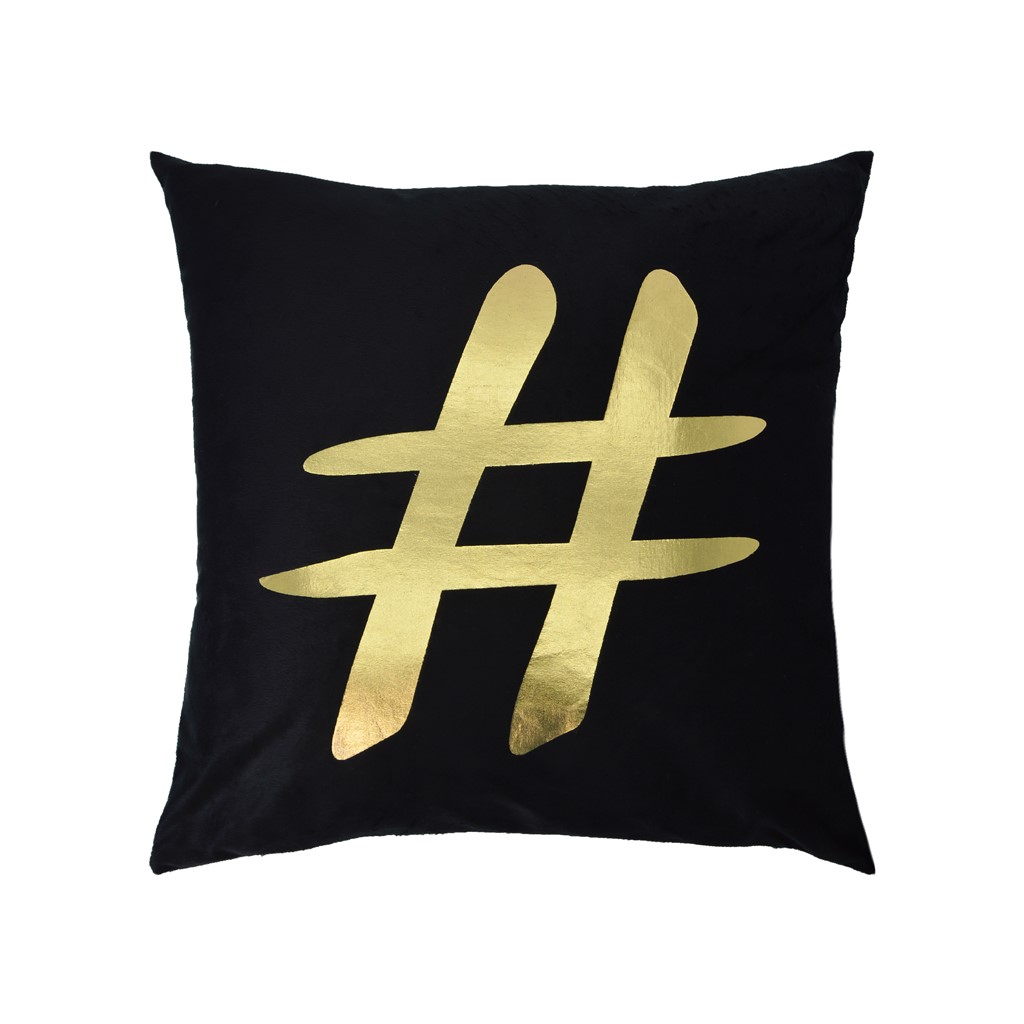 Coussin Douceur HASTAG D30 cm