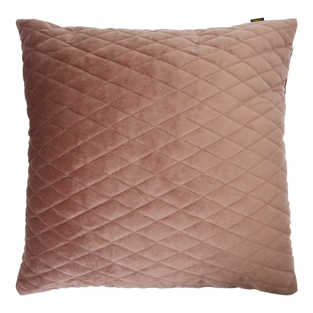 Coussin déhoussable 45X45 Rose