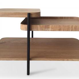 Table basse en bois et métal James