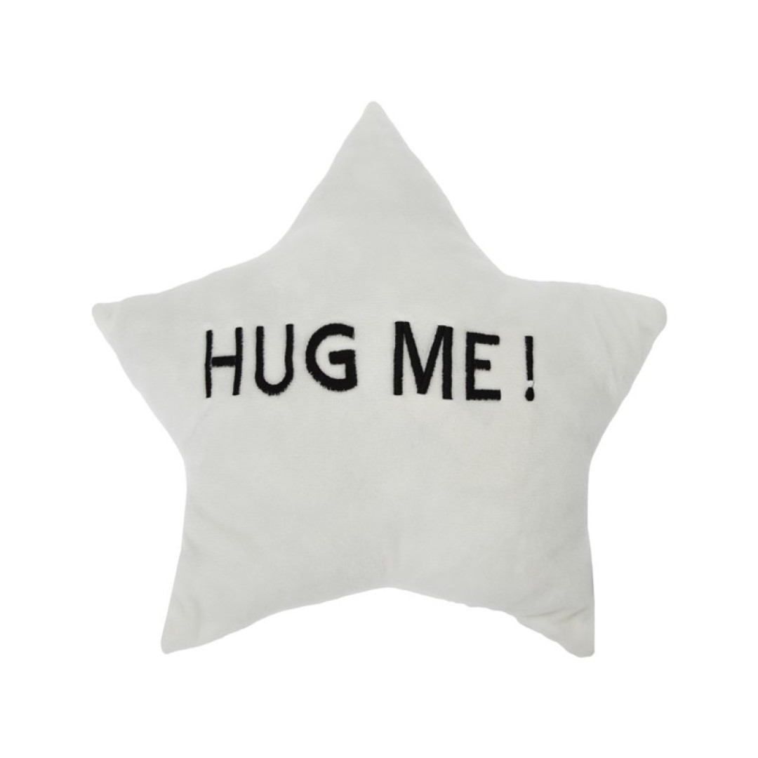 Coussin étoile HUG ME 35X35 cm