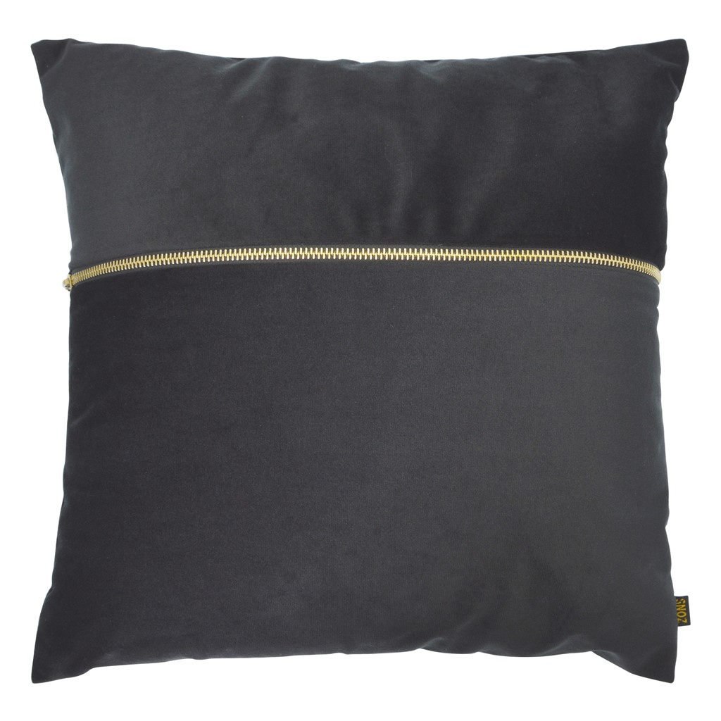 Coussin en velours avec zip 40X40
