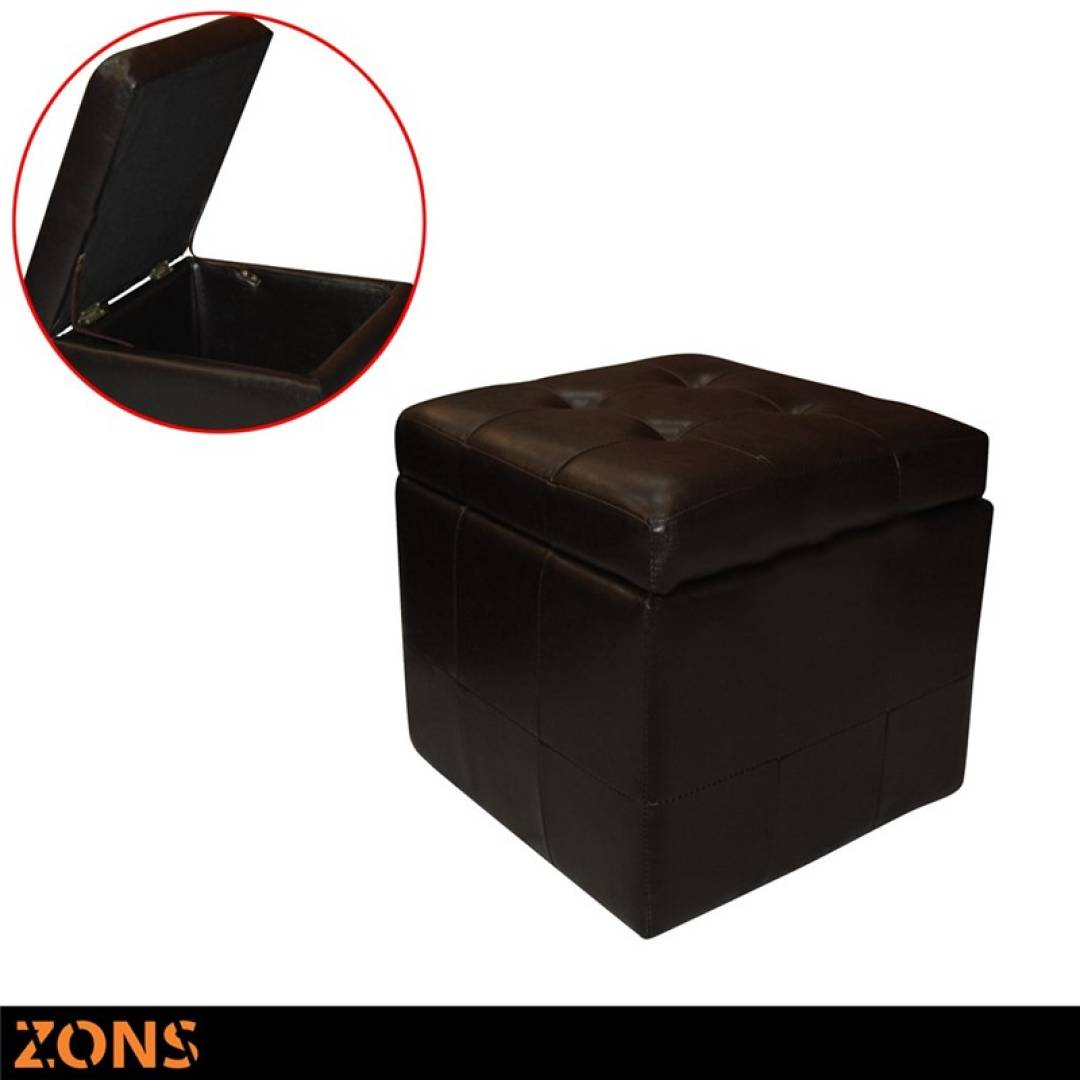 Pouf Coffre Marron 40/40/40cm