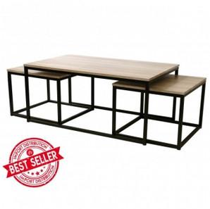 Table basse Loft + tables gigognes