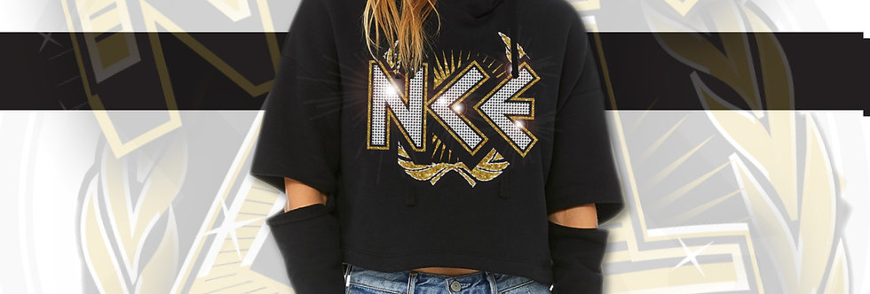 NCE Crystal Cut-Out Hoodie