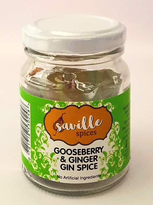 THE 'G'in SPOT (Gooseberry & Ginger Gin infusion)
