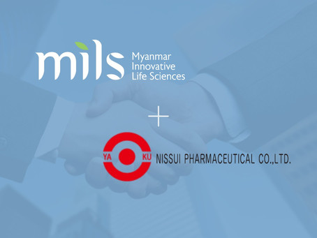 MILS and NISSUI entered into a partnership to uplift food safety and quality in Myanmar