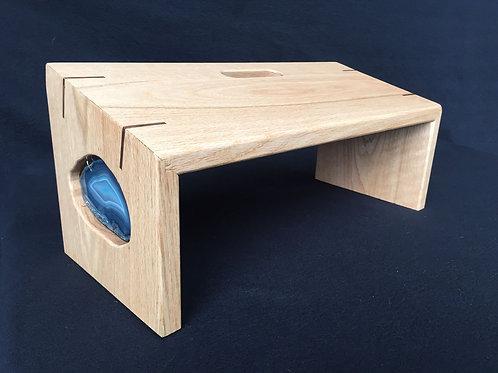 """Blue Whale"" Meditation Bench"