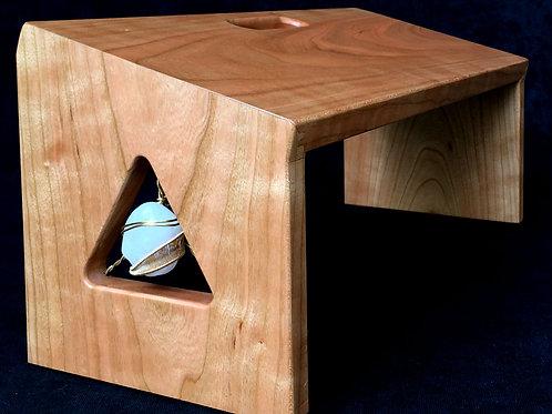 Rose Quartz Meditation Bench