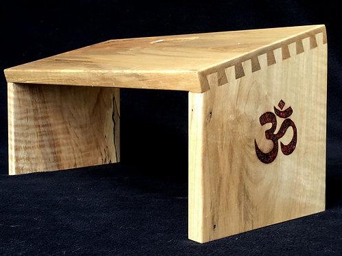 """""""Om"""" Meditation Bench"""