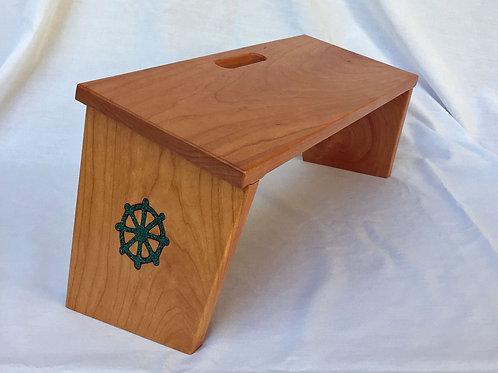 """Dharma Wheel"" Bench (Folding)"
