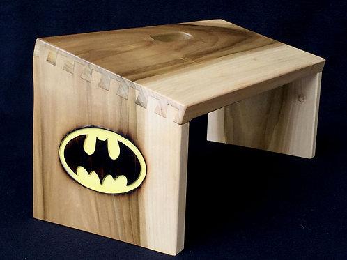 """Batman"" Meditation Bench"