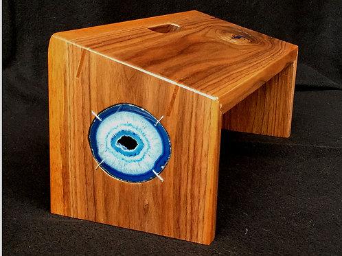 """""""Eye of God"""" Meditation Bench"""