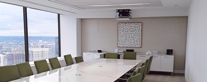 Single Projector Conference Room