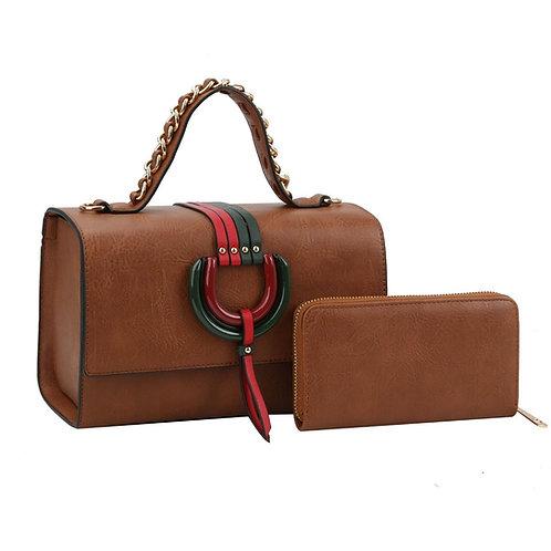 Gucci Leather Satchel Set