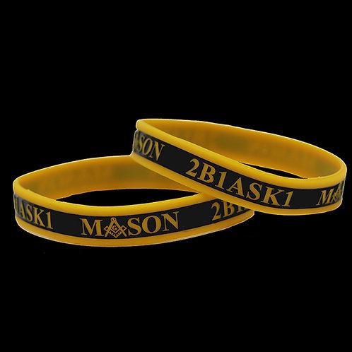 Mason Silicone Bracelet