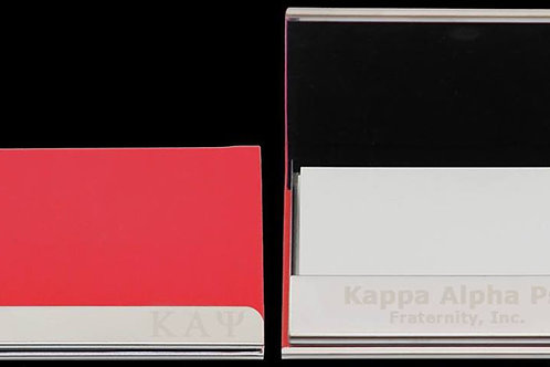 KAP leather business card holder