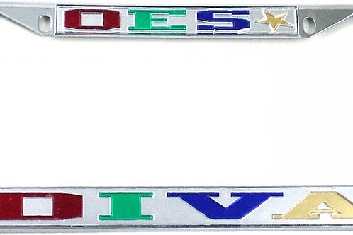 OES Diva Back License Plate