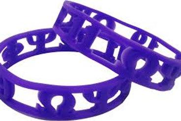 OPP 3D Silicone Bracelet