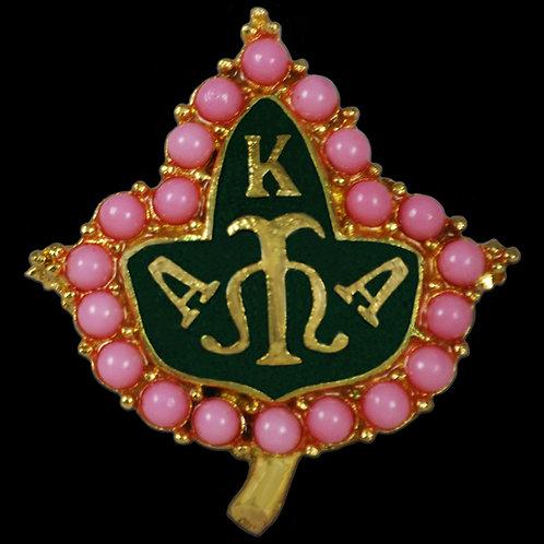 AKA Pink Pearl Ivy Pin