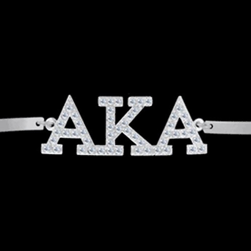 AKA Austrian Silver Crystal Bracelet