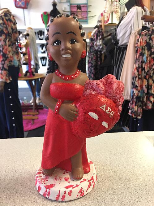 DST African Girl Ceramic