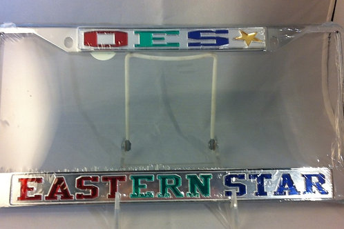 OES Back License Plate