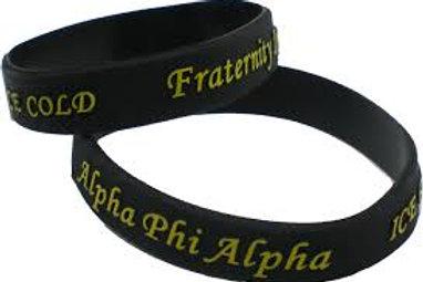 APA Embossed Silicone Bracelet