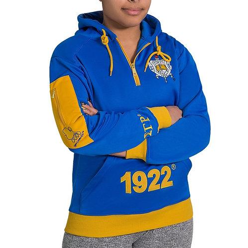 SGRho Q-Zip Pullover Hoodie