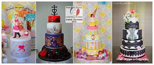 Cake-designer professionnel médaillé près de Nîmes