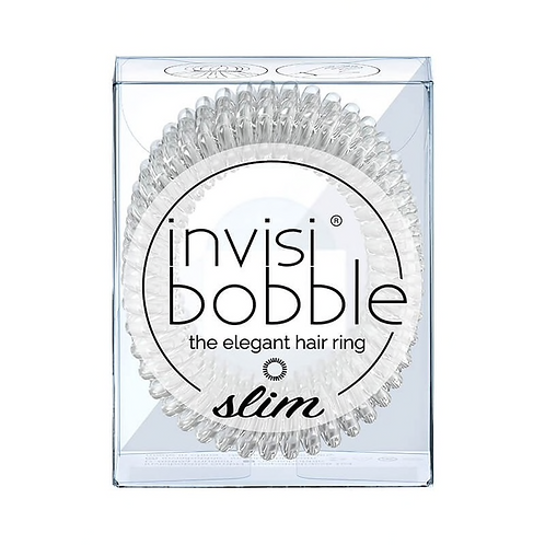 Invisibobble: Slim Crystal Clear - 2pc