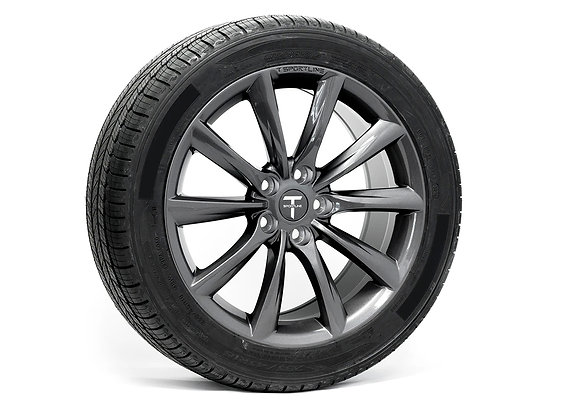 テスラ モデル3 TSS 18インチアルミホイール+タイヤ 4本パッケージ
