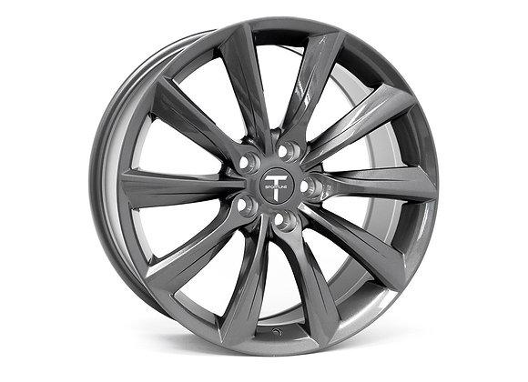 テスラモデル3   TST 18 インチフロー鍛造ホイール4本セット