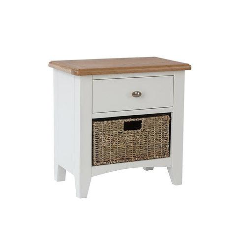 Nevada 1 Drawer 1 Basket Cabinet