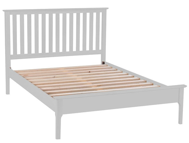 Utah 6'0 Bed with Grey Wooden Headboard