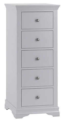 Washibgron Grey 5 Drawer Wellington