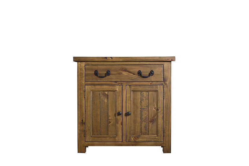 Cotswold Rustic 2 Door 1 Drawer Sideboard
