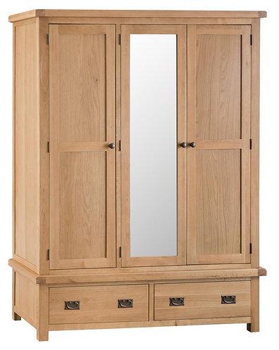 Lowa 3 Door Robe with mirror