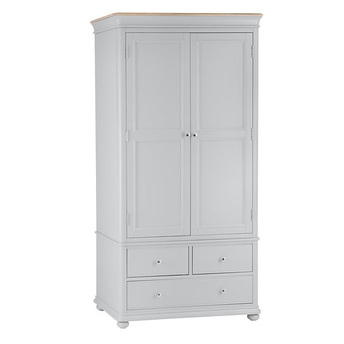 Texas 2 Door 3 Drawer Wardrobe