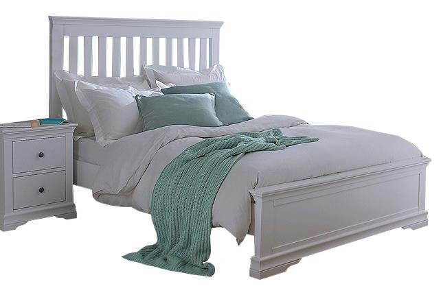 Washington Grey 6' Bed