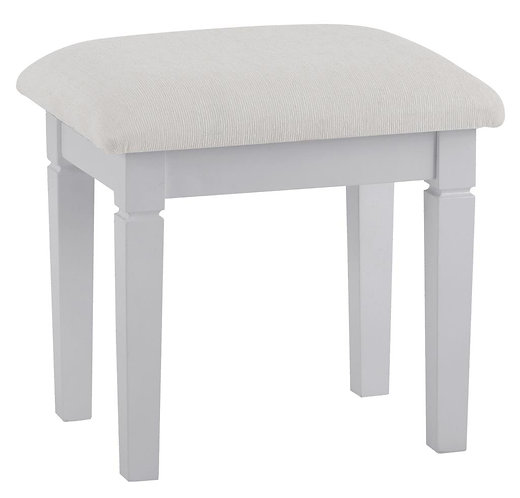 Washington Grey Dressing Stool