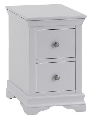 Washington Grey Bedside Cabinet