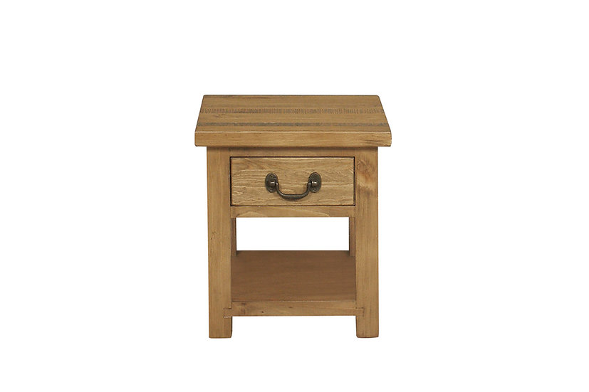 Cotswold Rustic Lamp Table