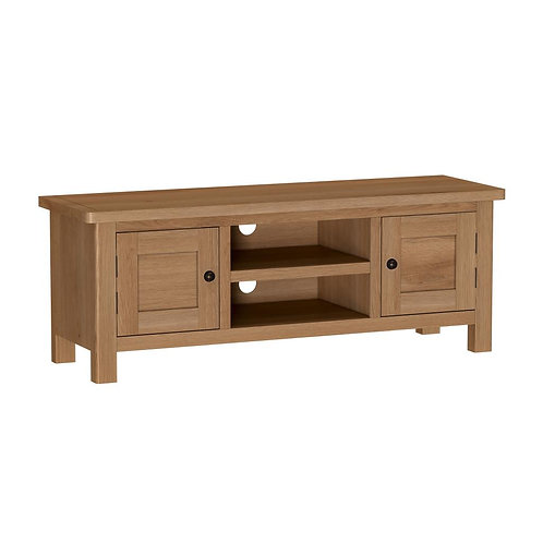 Vermont Oak Large TV Unit