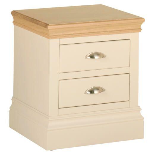 Lundy 2 Drawer Bedside