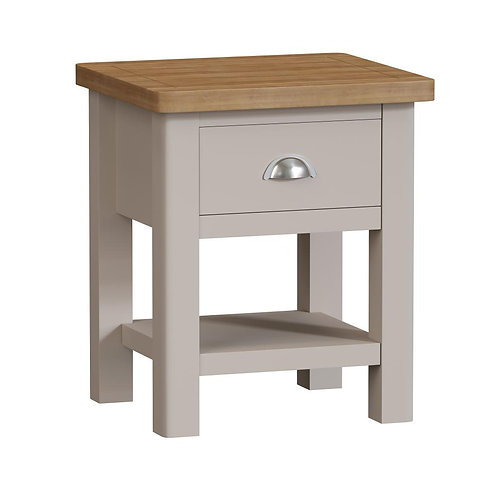 Vermont 1 Drawer Lamp Table