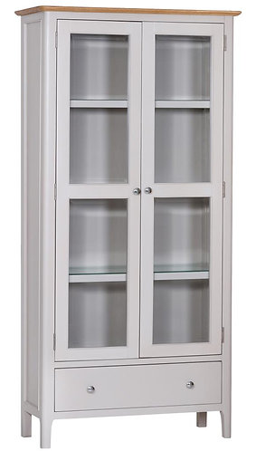 Utah Painted Display Cabinet