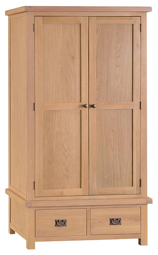 Lowa 2 Door 2 Drawer Wardrobe
