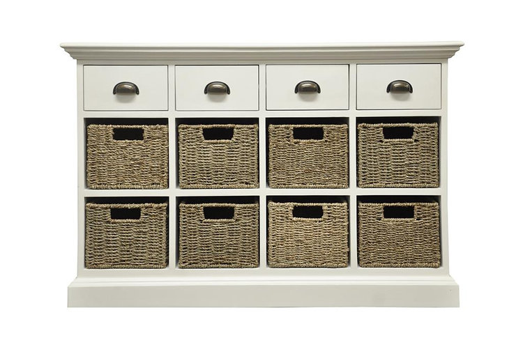 Wyoming 4 drawer 8 basket unit