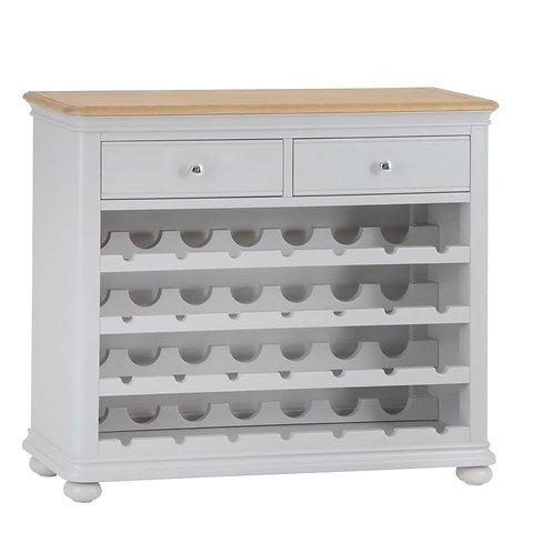 Texas Wine Cabinet